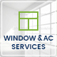 Window Cleaning, Air Conditioning and Heating Services