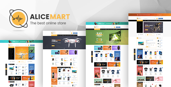 Alice - Multipurpose Responsive Magento Theme