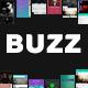 Buzz Music App UI