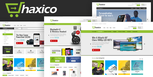 Haxico - Technology eCommerce Template
