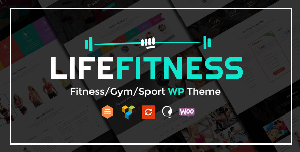 Download Life Fitness - Gym&Sport WordPress Theme