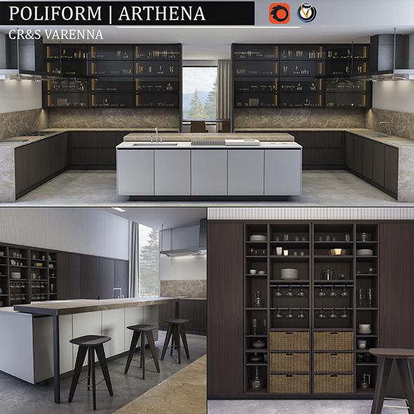 Kitchen Varenna Arthena - 3DOcean Item for Sale