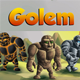 2D Game Golem Character Spritesheet