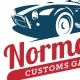 Customs Garage Badges