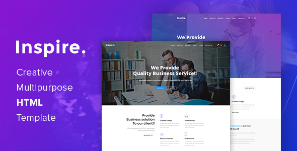 Download Inspire. - Creative Multipurpose HTML template