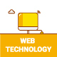 20 Web Technology Icons