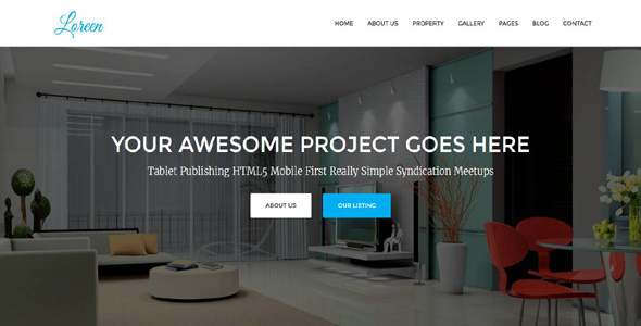 Loreen - Real Estate HTML Template