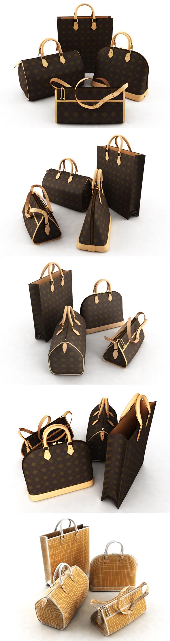 Bag ladies - 3DOcean Item for Sale