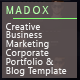 Madox - One and Multipage Creative  <hr/> Business</p> <hr/> Corporate Agency and Portfolio HTML Template&#8221; height=&#8221;80&#8243; width=&#8221;80&#8243;> </a> </div> <div class=