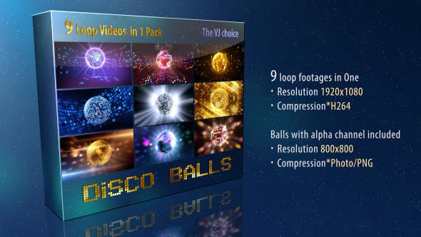 VideoHive Disco Ball 19504345