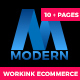 Modern - Multipurpose Working Ecommerce & App Landing Page