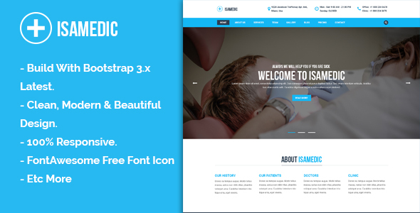 Isamedic - Template HTML