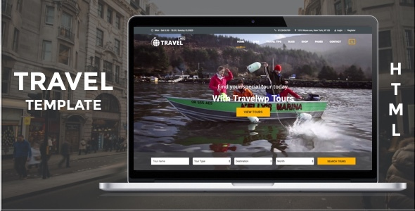 Download Travel HTML - Tour & Travel HTML Template for Travel Agency and Tour Operator