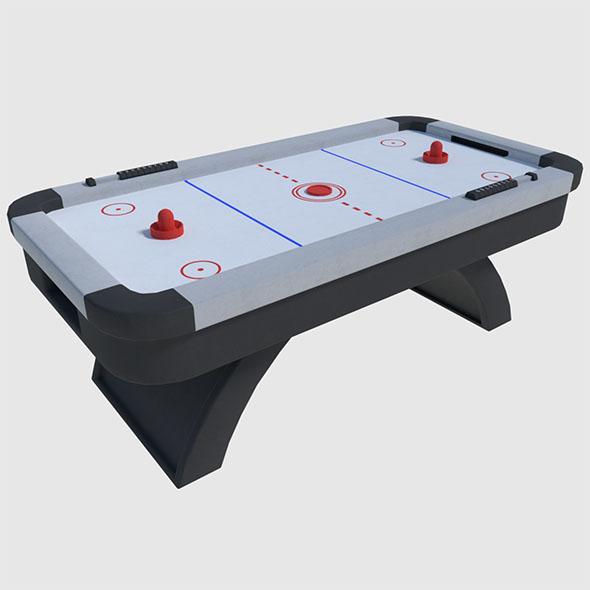 3DOcean Air Hockey Game Ready 19504989