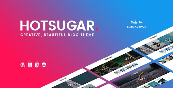 HotSugar   Responsive WordPress Blog Theme