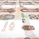 Banknotes of Twenty Renminbi Chinese