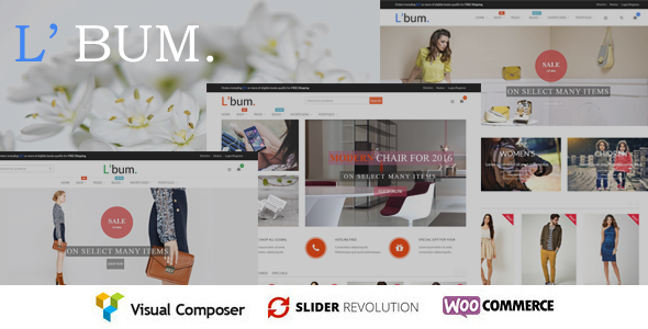 L'bum – Responsive WooCommerce Theme (WooCommerce) images