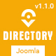 Directory - Responsive Ultimate Directory Joomla Template