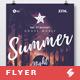 Summer Night - Beach Party Flyer / Poster Template A3