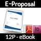 Company Proposal E-Book Template - 12 Pages