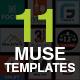 dMuse - 10-in-1 Unique Multipurpose Template