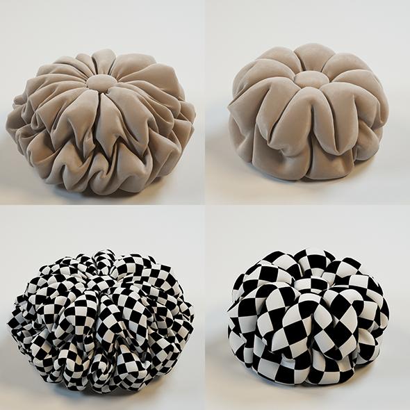 Decorative Pillows - 3DOcean Item for Sale