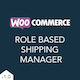WooCommerce Role Based Shipping Manager