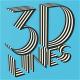 3D Lines - Logo & Titles Reveal