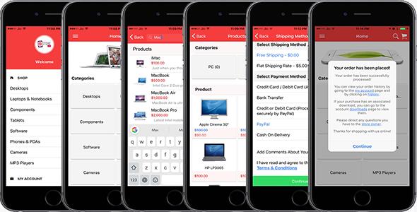 Opencart Mobile App