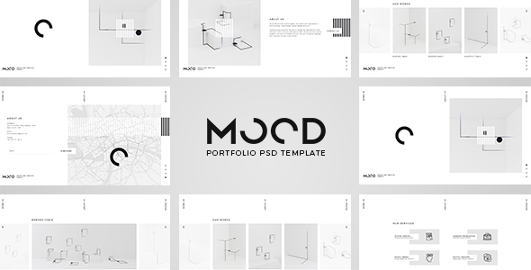 MOOD – Portfolio PSD Template (Inventive)