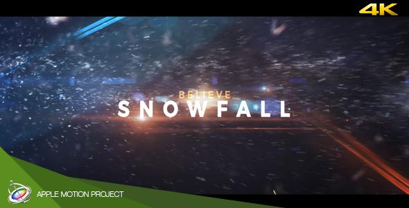 Snowfall - Dramatic Trailer Apple Motion