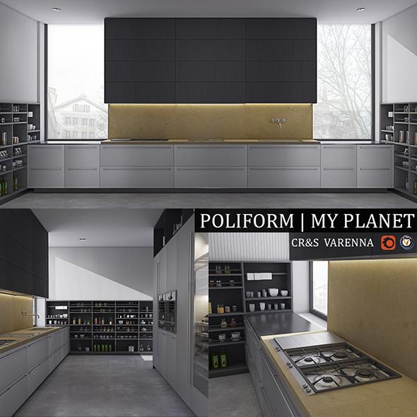 3DOcean Kitchen Varenna My Planet 19509040