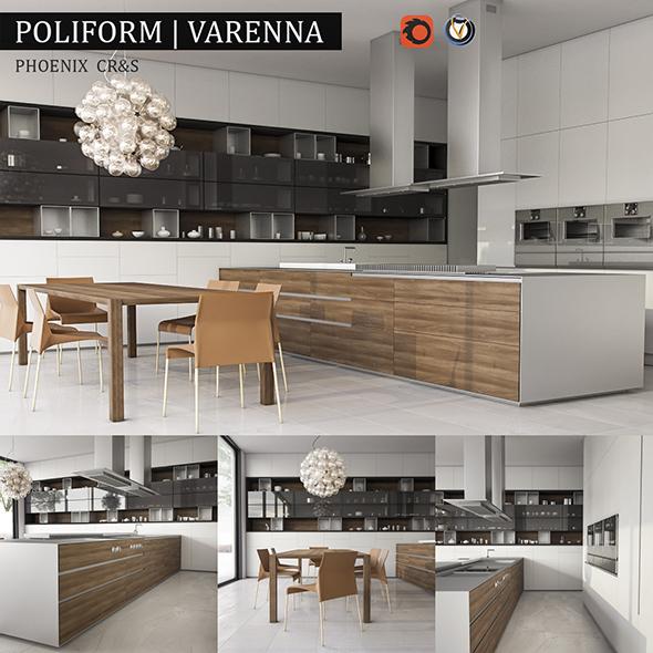 Kitchen varenna phoenix - 3DOcean Item for Sale