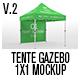 Tente Gazebo 1x1 Mockup Vol 02