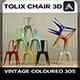 Vintage Tolix Chair 3D