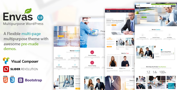 Download Envas - Multipurpose WordPress