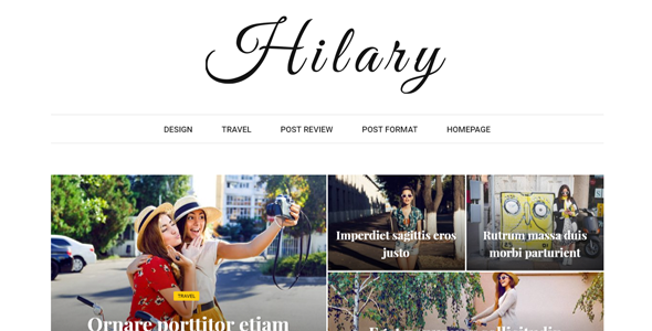 Download Hilary - Fast - Clean - Flexible WordPress Magazine News Blog Theme