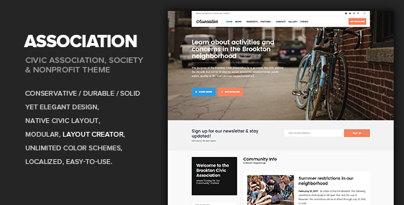 Download Association - Civic, Society, Third Sector & Nonprofit theme