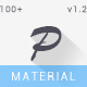 Pacificonis - Material Design Admin + Landing Page Template
