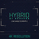 Hybrid Ui Screens / HUD Pack / Broadcast 240 Elements