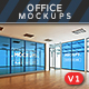Offices Posters, Billboards Mockups Vol.1