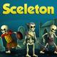 2D Game Skeleton Character Spritesheet
