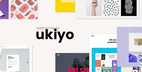 Ukiyo - A Fresh Portfolio Theme for Modern Agencies and Free ...