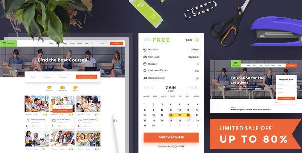Education – Education PSD Template