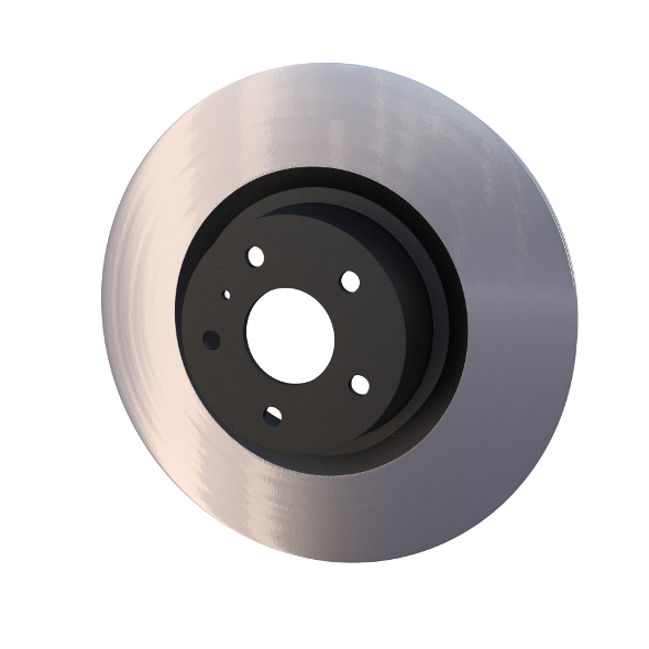 Ventilated Brake Disk - 3DOcean Item for Sale