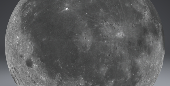 Moon Globe 11k - 3DOcean Item for Sale
