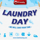 Laundry Service Post Card 42