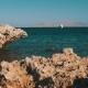 Beach in Egypt. Resort Red Sea Coast