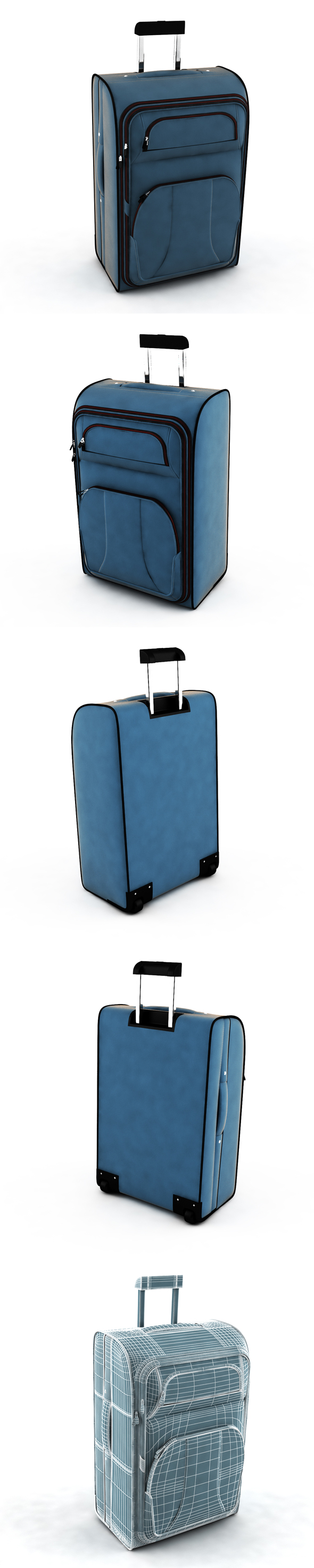 Suitcase travel - 3DOcean Item for Sale