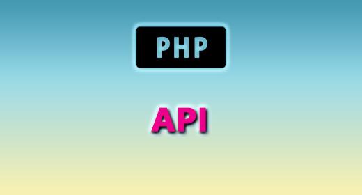 PHP (API)
